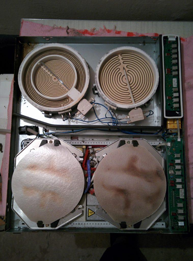 Услуги ремонта электроплиты